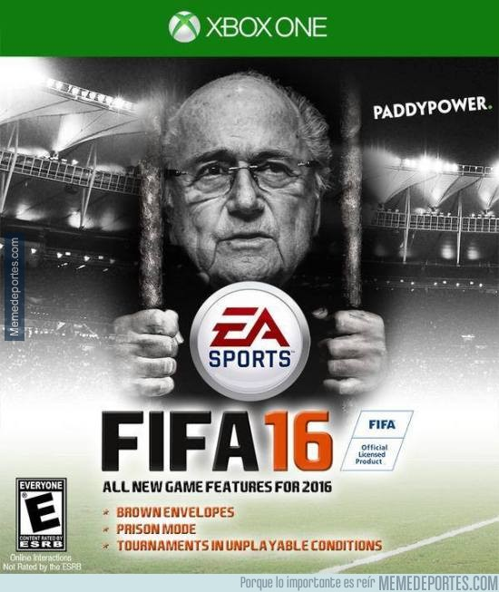 563730 - La portada del FIFA 16