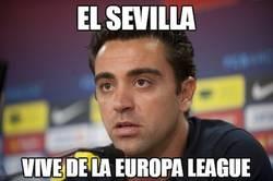 Enlace a Xavi, ¿Qué opinas del Sevilla?
