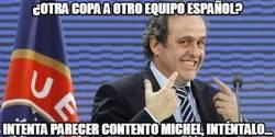Enlace a Vamos, no llores Platini...