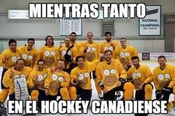 Enlace a Mientras tanto, en el hockey canadiense