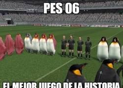 Enlace a PES 06, el mejor juego de la historia