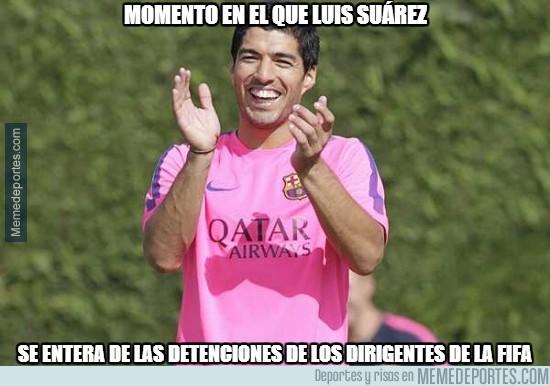 564903 - Suárez no es que sea muy amigo de la FIFA, así que...