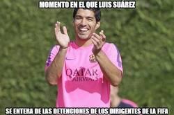 Enlace a Suárez no es que sea muy amigo de la FIFA, así que...