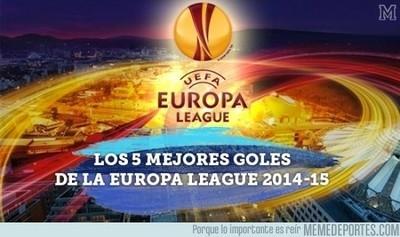 565562 - Los 5 mejores Goles de la Europa League 2014-2015