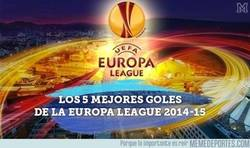 Enlace a Los 5 mejores Goles de la Europa League 2014-2015