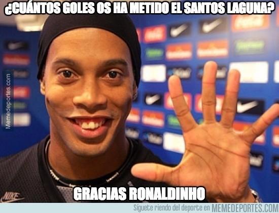 565778 - Paliza al Querétaro de Ronaldinho en la final de la liga MX