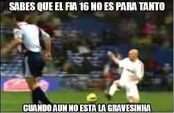 Enlace a Sabes que el FIFA 16 no es para tanto