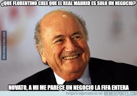 565886 - Blatter ve un simple negocio en la FIFA