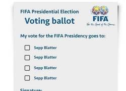 Enlace a Así ha sido para elegir al presidente de la FIFA