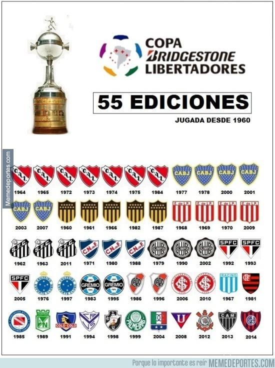 566227 - Esto han sido los Campeones de la Libertadores ¿Quien sera el próximo?