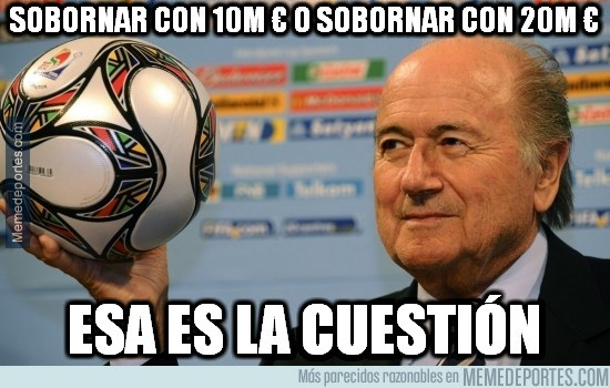 566557 - Así es la FIFA con Blatter