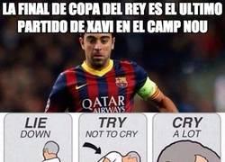 Enlace a La final de Copa del Rey es el ultimo partido de Xavi en el Camp Nou