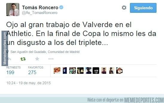567814 - Momento exacto en el que el Athletic perdió la Copa del Rey