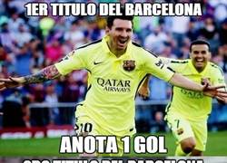 Enlace a ¡OJO! Se viene un hattrick de Messi