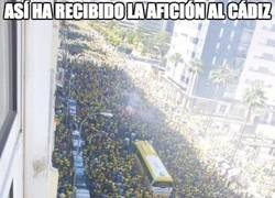 Enlace a La afición del Cádiz es increíble