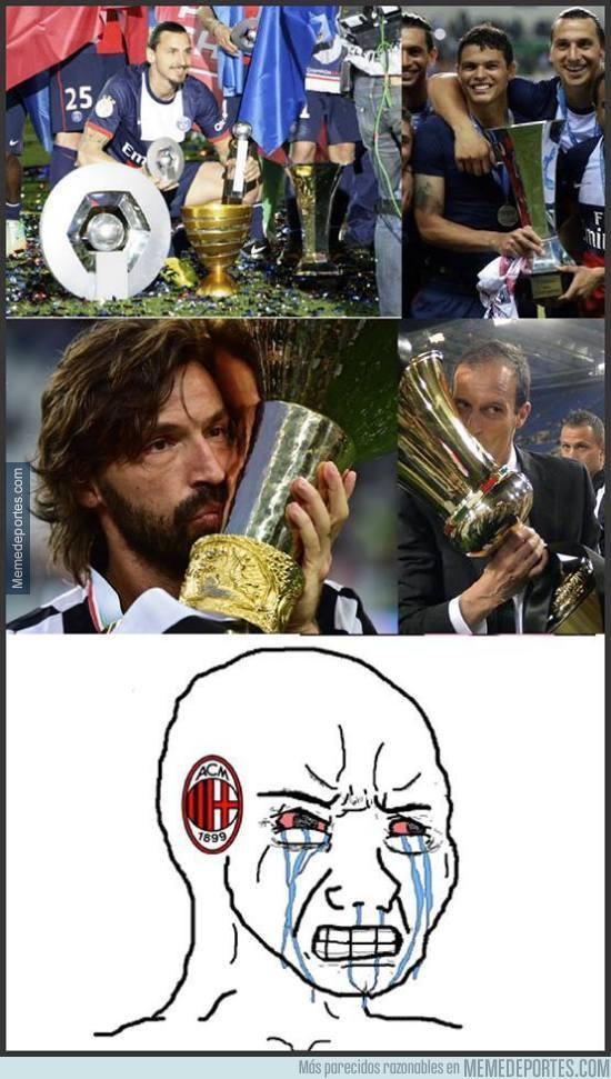 569364 - Aficionados del Milan, intentad no llorar