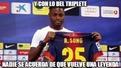 Enlace a Vuelve una leyenda al Barça