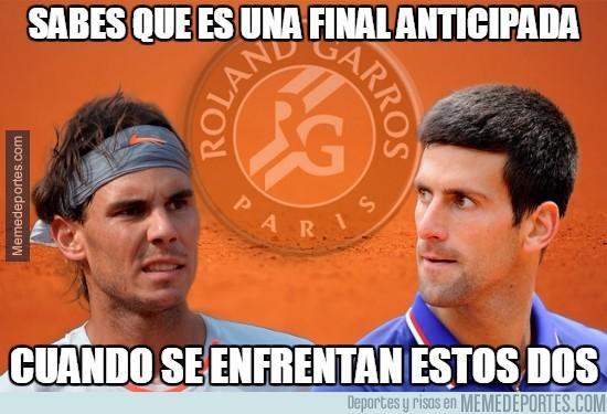 570118 - Duelo Nadal-Djokovic este miércoles en cuartos