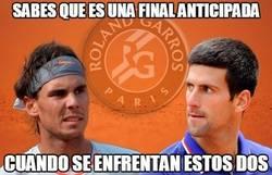 Enlace a Duelo Nadal-Djokovic este miércoles en cuartos