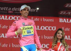 Enlace a Cuando Alberto Contador llegue a casa tendrá que explicar bastantes cosas a la parienta...
