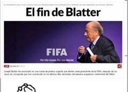 Enlace a La peor enemiga de Blatter gana el partido