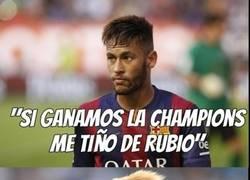 Enlace a Neymar, no es nada nuevo por tu parte