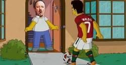Enlace a El Madrid hace OFICIAL el fichaje de Benítez. Los Simpsons ya habían predicho su encuentro con CR7
