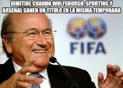 Enlace a ¡Increíble! Esta es la razón de la dimisión de Blatter