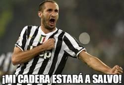 Enlace a Chiellini al saber que no jugará la final de Champions