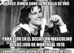 Enlace a Bruce Jenner y la polémica olímpica