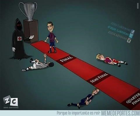573288 - Así ha llegado el Barça a la final de Champions