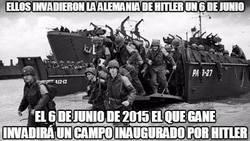 Enlace a Ellos invadieron la alemania de Hitler un 6 de junio