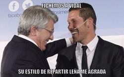 Enlace a Vidal apunta al Atleti