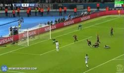 Enlace a GIF: ¡Quién si no, Morata empata el partido!