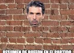 Enlace a Resumen de Buffon en el partido