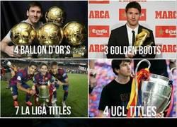 Enlace a Messi, sigue la leyenda