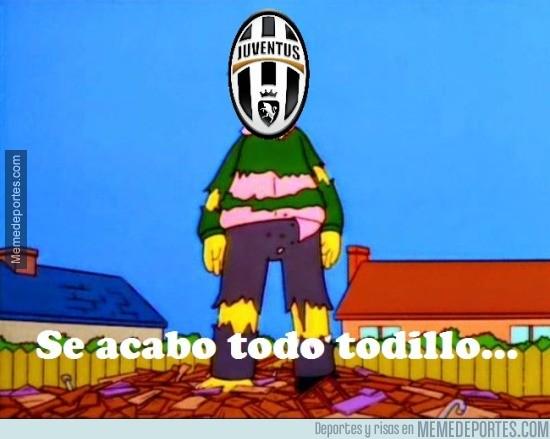 575295 - La Juventus al no poder conseguir el triplete