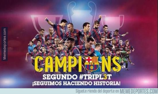 575316 - Histórico el Barça. ¡FELICIDADES!