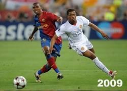 Enlace a Evra: 6 años, 3 finales perdidas contra el Barcelona