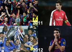 Enlace a La Champions huye de Cesc Fàbregas