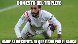 Enlace a Aleix Vidal al Barça