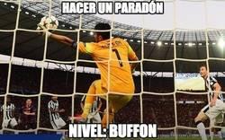 Enlace a Pese a perder la Champions, Buffon se lleva el respeto del mundo