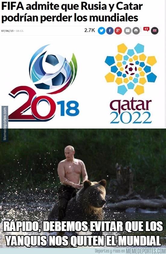 577494 - Que USA consiga quitar el mundial a Rusia enfada a Putin