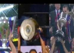 Enlace a GIF: El triplete del Barcelona en una imagen