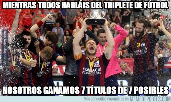 578309 - El balonmano del Barça también lo ha petado esta temporada
