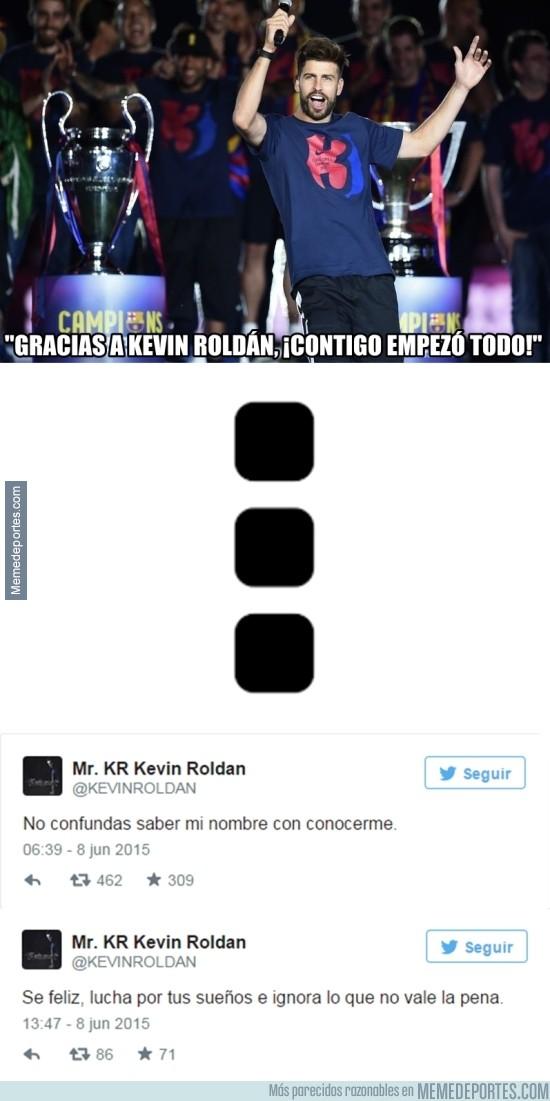 578350 - Enigmáticos tuits de Kevin, ¿Respondiendo a Piqué?