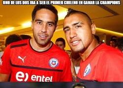Enlace a La maldición de los chilenos en Champions sigue igual