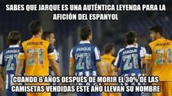 Enlace a Dani Jarque, el jugador que más camisetas vende en el Espanyol