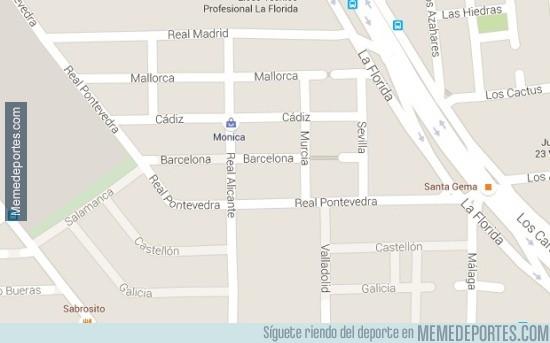 580190 - En la capital de Chile, hay un barrio con nombres de equipos españoles