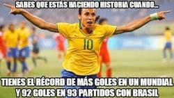 Enlace a Increíble Marta con Brasil